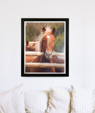 """Framed Print """"Hello There"""""""