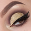 Champagne Fizz glitter cut crease by Vlada Haggerty