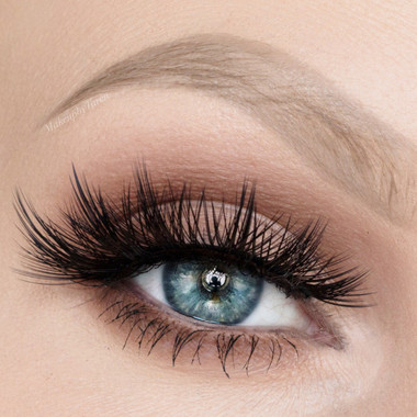 Penelope Lashes swatched by Taren