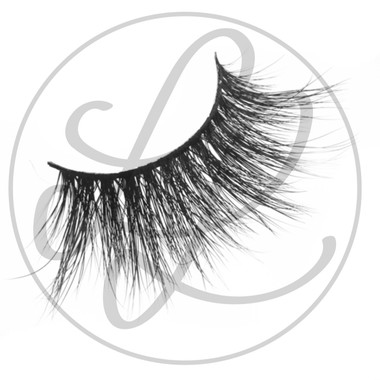 Kandi Lashes by Lena Lashes Side View One Pair