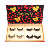 The Pinup Girl Collection by Lena Lashes opened box