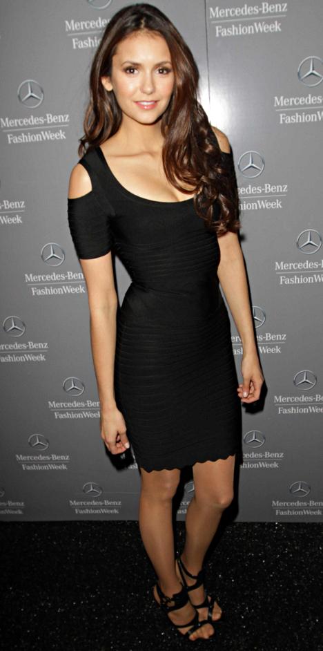 Celebrity Bandage Dress Nina Dobrev Dream It Wear It