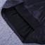 Puff Bardot Satin Dress Black