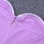 Strapless Midi Dress Lilac