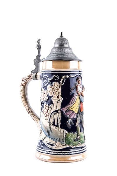 german craftsmanship beer stein