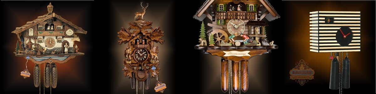 Hand carved cuckoo clock german craftsmanship