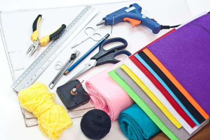 coo coo clock craft materials