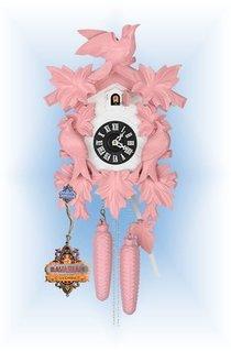 Pink Modern Cuckoo Clock