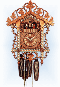 Authentic vintage german clock