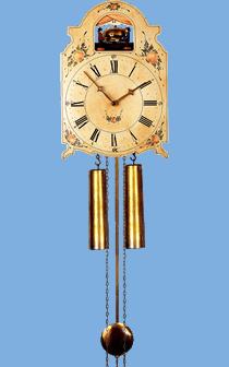 handmade shield cukoo clock