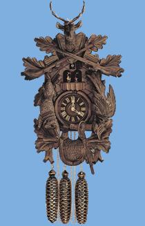 hand carved clocks german coo coo clock