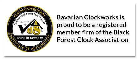Vds certification black forest clock association