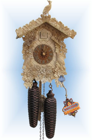 Sternreiter | 8226N | 12''H | Carved Bone | Traditional | cuckoo clock | full view