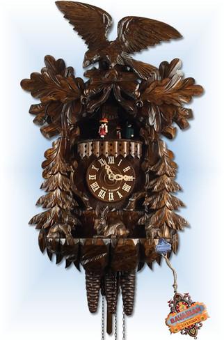 August Schwer   4.6511.01.P   17''H   Eagle Rabbit   1 Day   traditional cuckoo clocks  