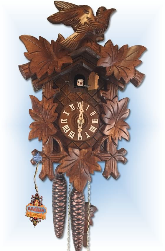 Rombach and Haas | cuckoo clock | 1220 | 12 inch | full view