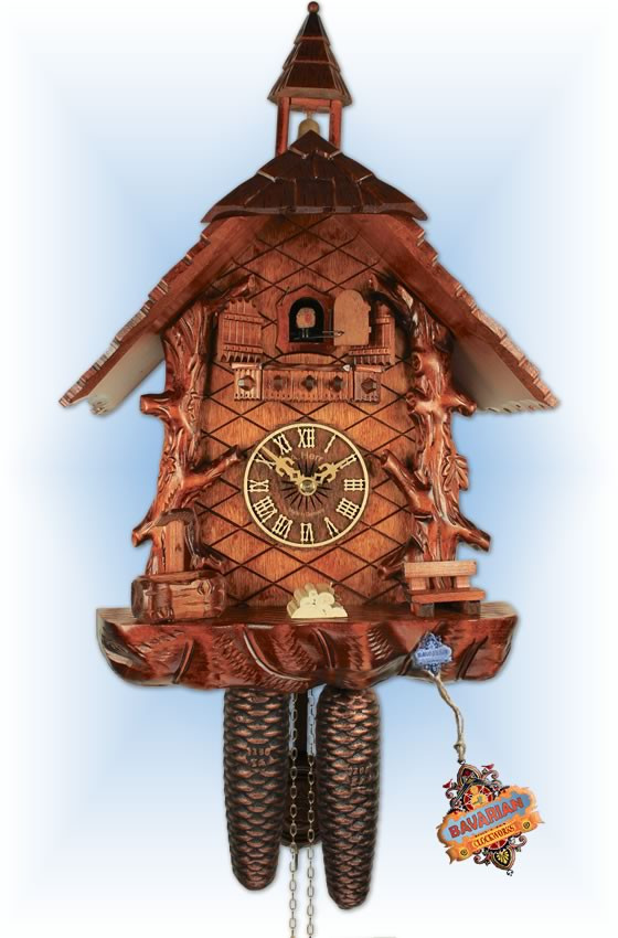 Forest House cuckoo clock