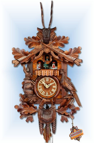 Hunters 1 day musical cuckoo clock
