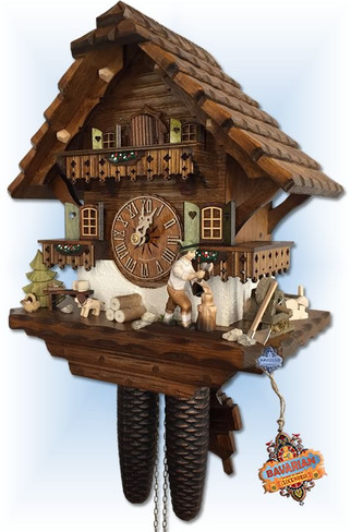 Hekas | 885 EX | 13 inch | Mill Grinder | Chalet | cuckoo clock | right view
