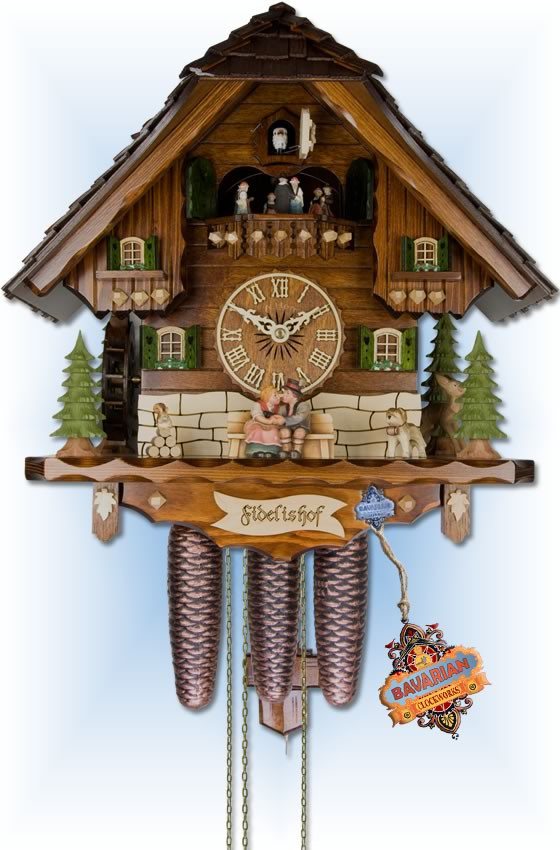 Adolf Herr 800/1 8TMT Faithful Home cuckoo clock