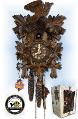 Cuckoo Clock | 10''H | Gift Boxed | Traditional | 1 Day | box set