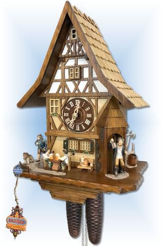Night Watchman   Cuckoo Clock   by Schneider