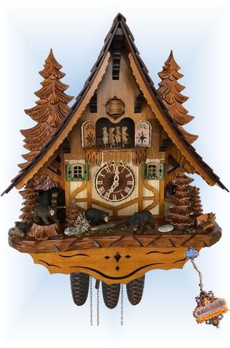 Bear Chalet   Cuckoo Clock   by Schneider   full view
