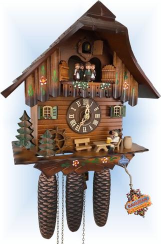Breaktime   Cuckoo Clock   by Schneider   full view