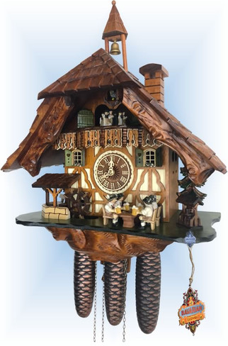 Cheers | Cuckoo Clock | by Schneider | full view