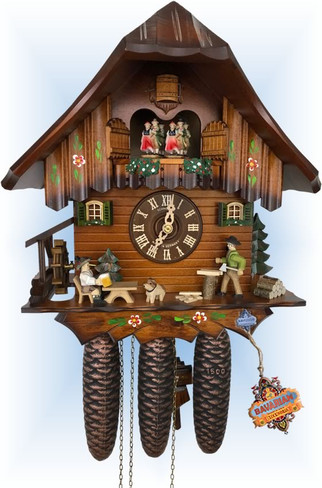Work and Play | Cuckoo Clock | by Schneider | full view