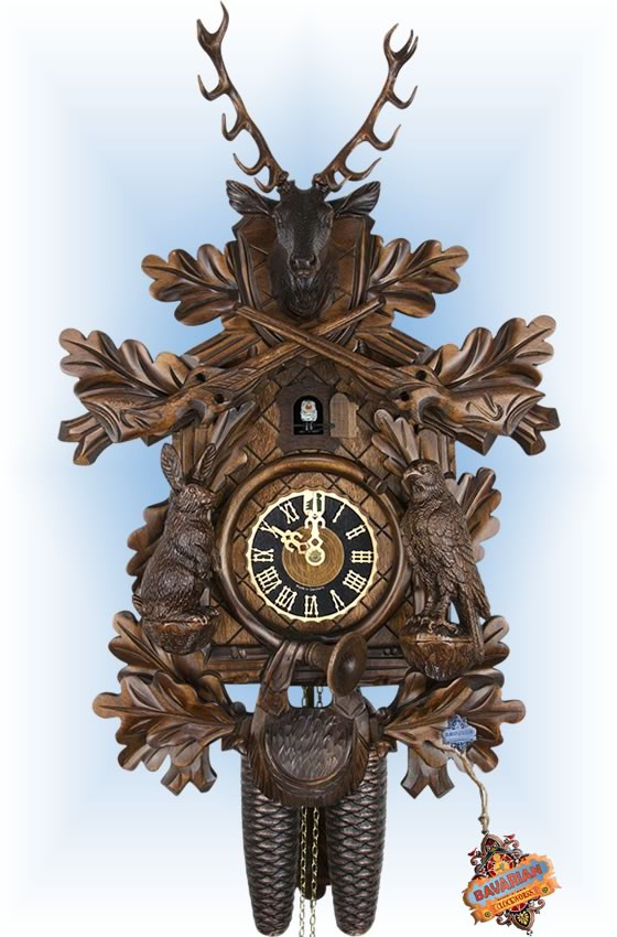 Rabbit Hunter | Cuckoo Clock | by Hones | 8 Day