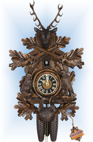 Rabbit Hunter | Cuckoo Clock | by Hones | 8 Day