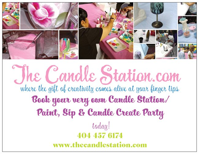 Sip Paint & Candle Create