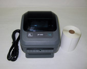 Zebra ZP450 Thermal Label Printer USB/Serial Connections & 250 labels UPS.com