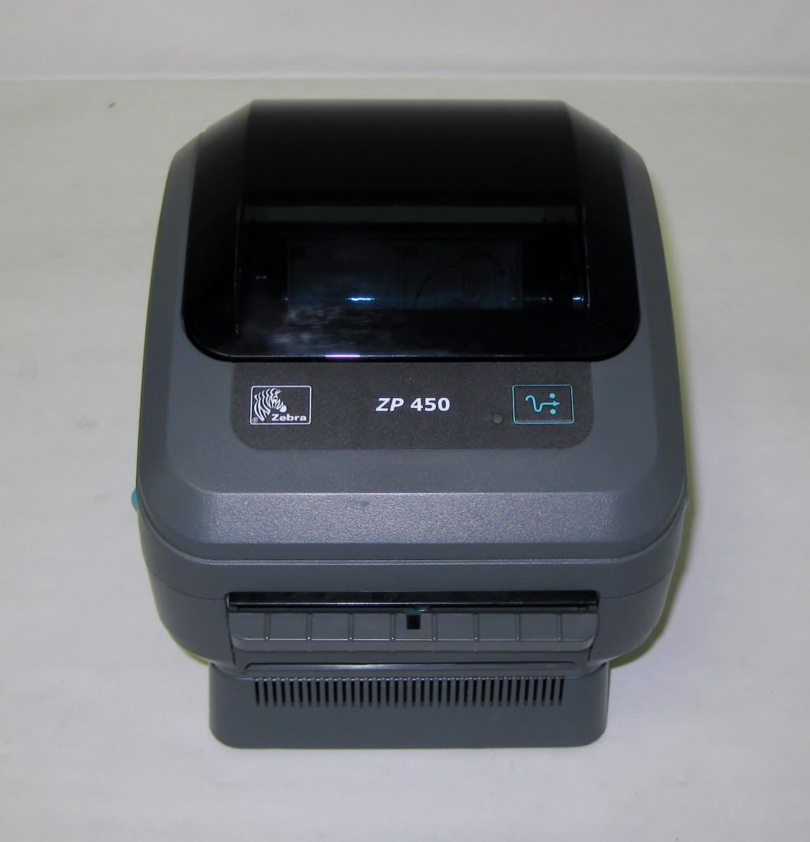 Zebra ZP450 Thermal Label Printer USB/Serial Connections & 250 labels  UPS com