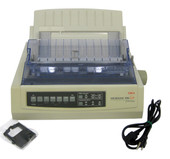 OKIDATA 390 TURBO 390T OKI DOT MATRIX  PARALLEL PRINTER 62411901