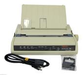 OKIdata 184 Turbo Refurb IBM Emulation OKI 184T Printer 62408901 A