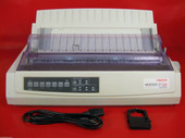 OKI ML 321 Turbo 321T Parallel Dot Matrix Printer 62411701 5-9ppm black & white