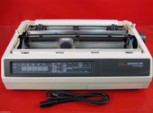 OKIDATA MICROLINE 395 PRINTER ML395 62410501 NO TOP PLASTICS