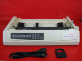OKIdata 321 Turbo Parallel Serial Printer No Plastics 62411701 Refurb
