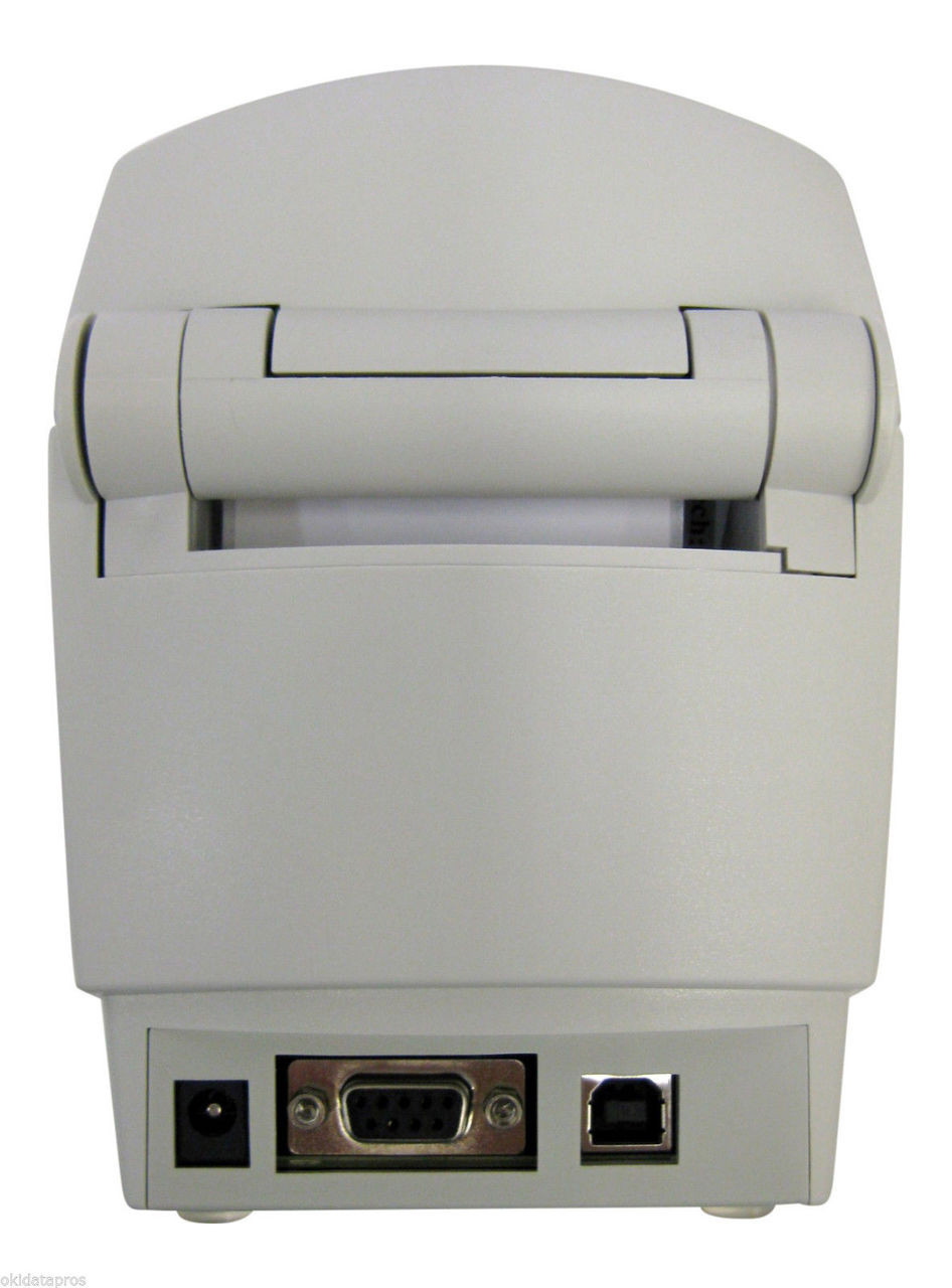 Zebra LP 2824 Plus Thermal Label Printer with USB and Ethernet Interfaces