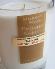 Table 301 Maker's Mark Private Select Bourbon Candle