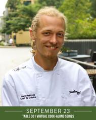 7 - Hank Reinhold, September 23 - VEGAN LASAGNA + Flatbread Bruschetta & Lemon Cake