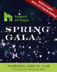 Homes of Hope - Spring Gala Watch Party Box - Four (4) People - Pick Up Only