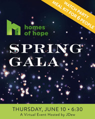 Homes of Hope - Spring Gala Watch Party Box - Six (6) People - Pick Up Only