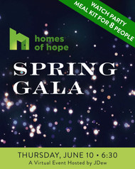 Homes of Hope - Spring Gala Watch Party Box - Eight (8) People - Pick Up Only