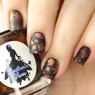 Fall Leaves Stencils