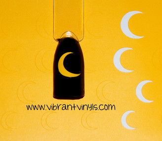 Crescent Moon Decals