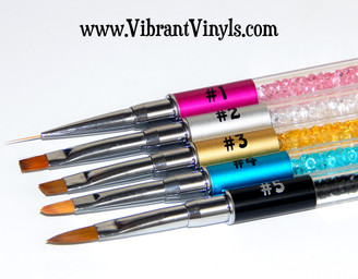 Signature Nail Art Brushes