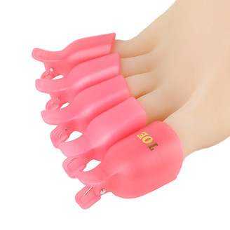 Soak Off Toe Nail Polish Removal Clips