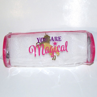 Magical Unicorn Clear Zippered Bags